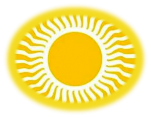 Soleil irradiant